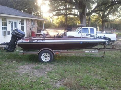 Ragin Cajun Bass Boat by 1996 Cajun Bass Boat For Sale