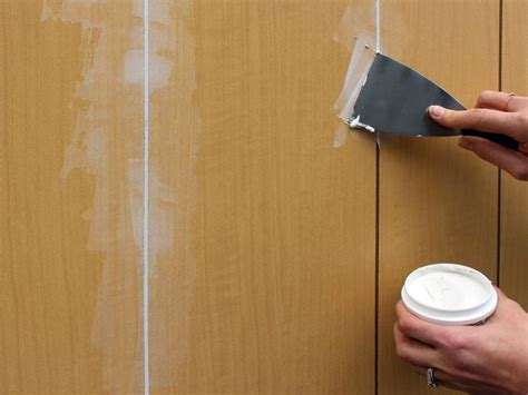 How To: Paint Wood Paneling   Abram's Painting