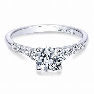 diamond engagement ring by gabriel co canadian jewelry With jewelry exchange wedding rings