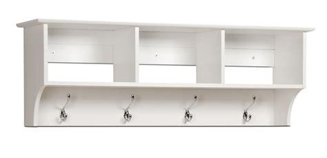 shelf with hooks white wall shelf with hooks