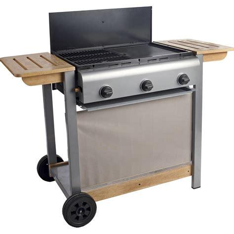 cuisine au gaz barbecue au gaz naterial wombat leroy merlin
