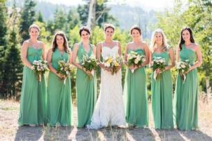 green bridesmaid dresses 14 amazing st 39 s day wedding ideas