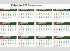Terbaru Kalender 2019 Siap Download dan Edit Ruanganbacacom