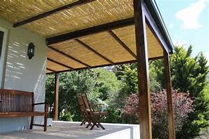 Tonnelle En Bambou : canisse bambou pergola ~ Premium-room.com Idées de Décoration
