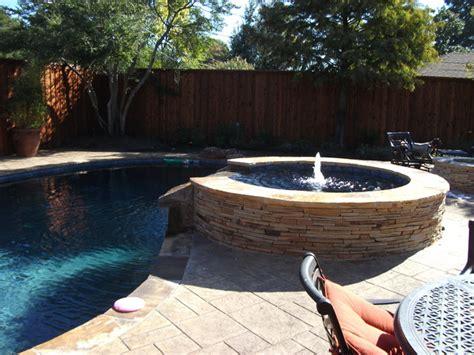 pool renovation   hot tub fire pit  cabana bar