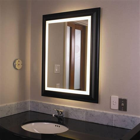 Best Lighting For Bathroom Mirror by 20 Best Ideas Bathroom Mirrors With Led Lights Mirror Ideas