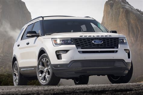 2020 Ford Explorer Will Go Rwd, Pick Up St Trim, Report