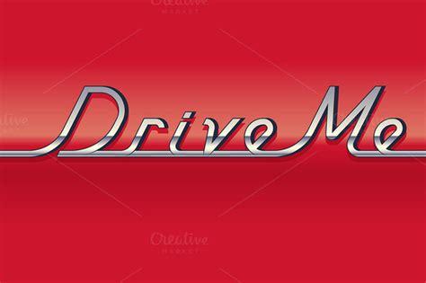 vintage auto font