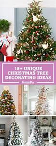 25+ Unique Christmas Tree Decoration Ideas