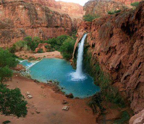 Havasu Falls Havasupai Canyon Arizona By Zubi Travel