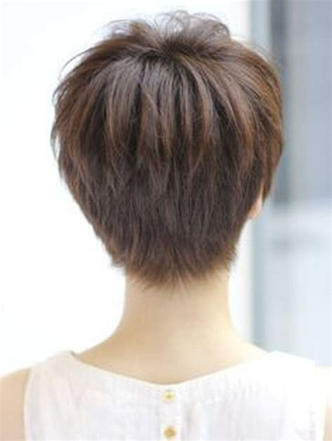 hair style from back cool back view undercut pixie haircut hairstyle ideas 15 5388