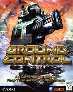 ground control video game wikipedia