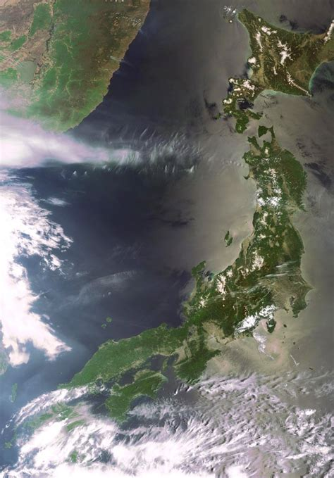 Earth From Space The Japanese Archipelago Observing The