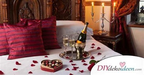 Romantische Stimmung Im Schlafzimmer charmante diy schlafzimmer deko ideen zum valentinstag