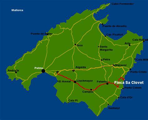 Mallorca-Karte