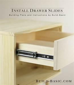 How to Install Drawer Slides ‹ Build Basic