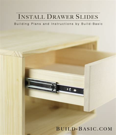 How to Install Drawer Slides ? Build Basic