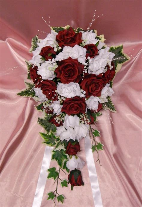 wholesale silk artificial wedding flowers roses  ivy