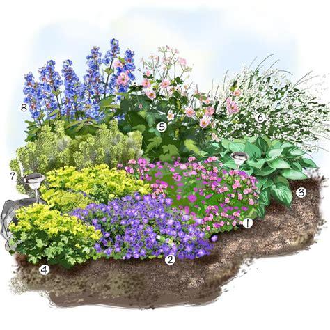 projet am 233 nagement jardin les vivaces fleuries au jardin