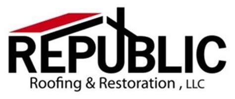REPUBLIC ROOFING & RESTORATION, LLC Trademark of Republic