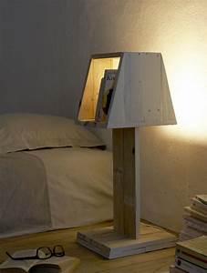 Lampe En Palette : palettes faites vos meubles ~ Voncanada.com Idées de Décoration