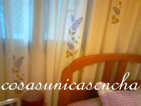 cortinas pintadas cortina de plumeti pintada a estarcido cortinas