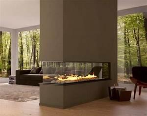 Cheminée Double Face : cheminee moderne double face ~ Preciouscoupons.com Idées de Décoration