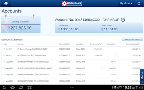 hdfc bank tablet apps  google play