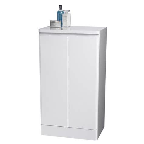 Floor Standing Bathroom Cupboard by Montreux White Freestanding Bathroom Floor