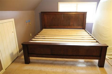 build queen bed frame plans  woodworking plans