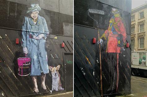 Banksy Art Wallpaper Queen