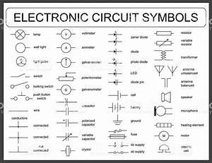 Electric Circuit Symbols   Coolguides
