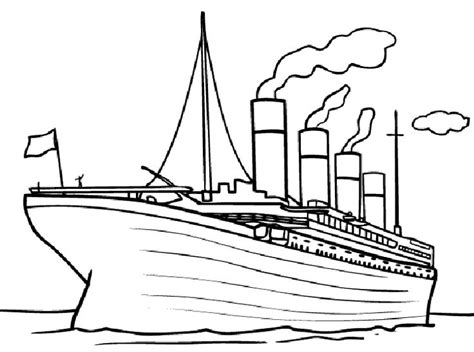 titanic coloring pages free printable titanic coloring pages for titanic