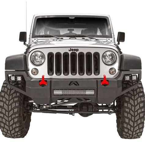 jeep wrangler front fab fours jeep wrangler 2007 2017 vengeance full width