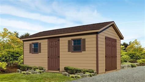 premium sheds custom shed  wood lap siding