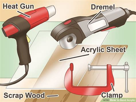 how to bend acrylic steps with wikihow