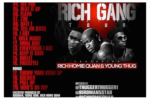 rich gang war ready clean download