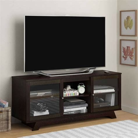 Tv Schrank Ausfahrbar by Tv Stand Entertainment Center Media Furniture Console Wood