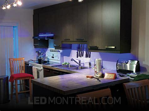 bande led cuisine éclairage sous armoires dans la cuisine d andré led montréal