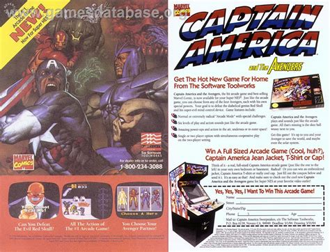 Captain America And The Avengers Nintendo Snes Games