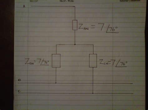 How Determine Phase Angle Three Circuit