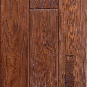 shop mohawk montefino 5 in w prefinished elm engineered hardwood flooring antique elm cherry