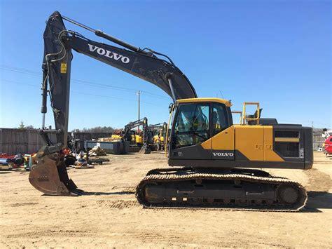 volvo ecel excavator commercial trucks  sale