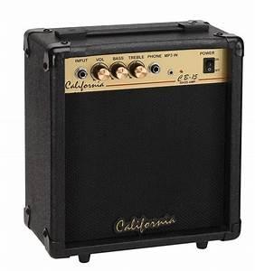 California 15 Watts Bass Amplifier  Bass Guitar Practice Amplifier  Cb