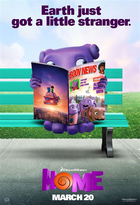 dreamworks posters movie trailer dvd poster animation boov teaser tip release meet oh date plot animations netflix amazon human itunes