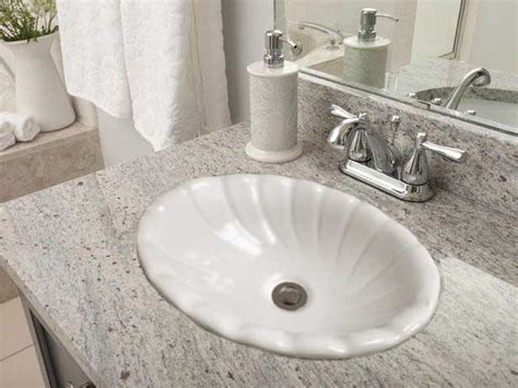 drop in bathroom sink vs undermount self drop in bathroom sinks by barclay