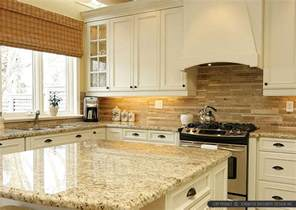 subway tiles kitchen backsplash ideas travertine subway backsplash tile idea backsplash kitchen backsplash products ideas