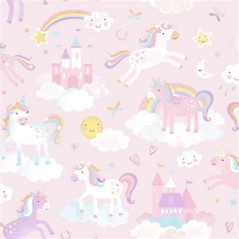 behang expresse charlie unicorn behang cr isabeau