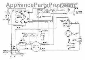 Parts For Admiral Lse7804age  Wiring Information-dryer Parts