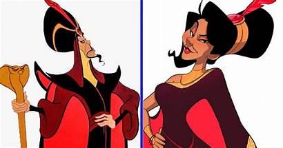 Disney Villains Artist Tiktok Princesses Into Turns